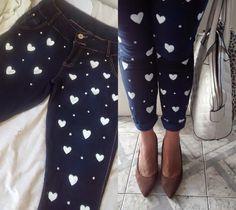 customização de calça jeans - Pesquisa Google