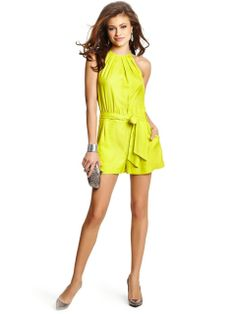 GUESS By Marciano Felicia Romper 961 Classic $135