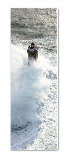 Photo sur toile Coup de vent sur le phare de la Vieille - Finistère Philip Plisson | Finistère | Bretagne | #myfinistere