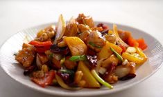 Thai Recipes, Asian Recipes, Chicken Recipes, Healthy Recipes, Thai Wok, Kung Pao Chicken, Love Food, Curry, Dinner