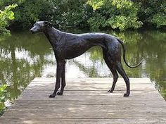 greyhound sculpture
