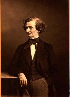 Hector Berlioz, french composer