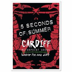 Cardiff's limited edition ROWYSO poster