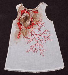 Erin Endicott Erin Endicott is a fiber artist from Philadelphia.New Jersey artist Erin Endicott uses hand embroidery stitching on vint...