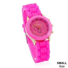 Womens and Kids Rubber Casual Cool Watch
