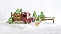 Gingerbread Pickup Truck