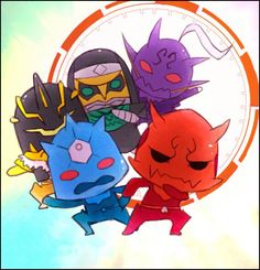 Kamen Rider Den O Imagins Chibi