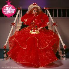 Holiday Barbie 1993 #holidaybarbie