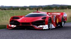 Ferrari Le Mans concept 2012, diseño transfuncional de Sasha Selipanov.