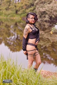 At the lake2 por Legado Visual  #alternative #altmodel #boudoir #dark #exterior #lake #latina #lentes #morena #nature #raven #retrato #smile #suicidegirls #tattoo #transparent #blacklingerie #atthelake #legadovisual #lingerie #brujacuervo #boudoiratnature