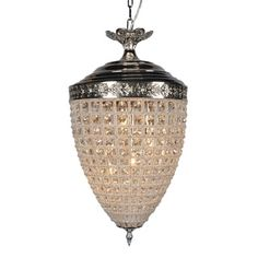 Versailles 4-light Crystal Chandelier with Brilliant Crystals