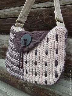 Santa Clara Artesanato: Bolsas diferentes de crochê