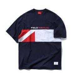 오버핏 드랍숄더 실루엣 티셔츠