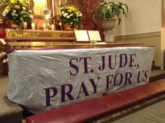 Today is the last day to send your petitions to be included in the St. Jude Prayer Banner. All intentions must be submitted online order to be included in the banner.