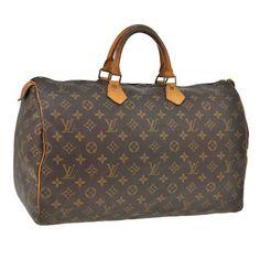 Louis Vuitton Speedy 40 Monogram Satchel.