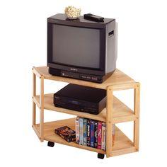 Winsome Wood 83423 Corner Tv Stand