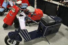 OldMotoDude: 1934 Cushman Autoglide Model 34 sold for $4,000 at...