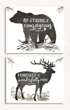 Woodland Nursery Set of Two 2019 Woodland Nursery Set of Two Perfect for a little boy's nursery! The post Woodland Nursery Set of Two 2019 appeared first on Nursery Diy. Baby Boy Rooms, Baby Boy Nurseries, Baby Boys, Baby Boy Nursery Themes, Deer Themed Nursery, Little Boys Rooms, Deer Nursery, Baby Themes For Boys, Kids Rooms