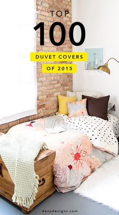 Bring art in to everyday life by turning an ordinary duvet into a jaw-dropping statement piece. These DENY Designs Top 100 Duvets capture a range of different styles, from soft and minimalistic vibes and moody relaxation designs, to bright and colorful patterns, there is something for everybody.