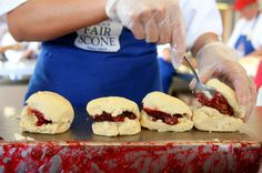 do the puyallup with Fischer's scones
