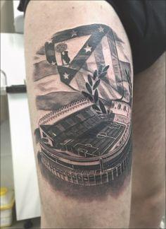 Vicente Calderón atletico de Madrid atlético atleti fútbol tattoo ... #football #tattoo #tattooideas