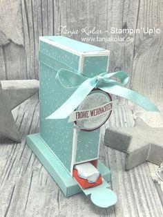 Thinking out of the Box Blog Hop … kostenlose Anleitung: Schokoladen Spender – Kreativ mit Tanja – Workshops und Shop für Stempel, Stanzen, Papier