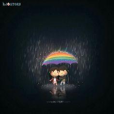 Regenbogen...ein Gedankenspiel