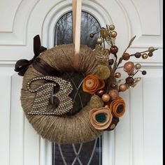 Thanksgiving wreath!