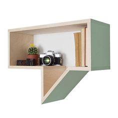 Speech Bubble Shelf - Green - by Really Nice Things #MONOQI