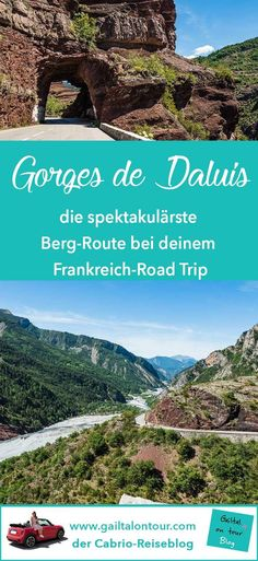 Ausflug von Nizza in das Hinterland der Cote d'Azur. Fahrt in das #Val de Var und durch die Schlucht von #Gorges de Daluis. Stopps in #Entrevaux, Guillaumes, dem Parc Naturel Regional des #Préalpes d'Azur und in #Grasse, der Weltstadt des Parfums