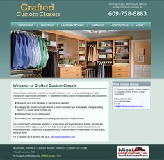 Crafted Custom Closets
