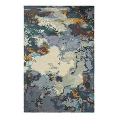 For Master Bedroom Galaxy 21903 5' x 8' Blue Area Rug | Nebraska Furniture Mart