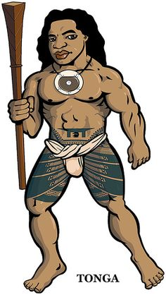 Latest draft of the warrior from Tonga makes some changes to the tatatau, and adds the distinctive Tongan breastplate ornament that began as a shield against Fijian arrows. Tongan Tattoo, Samoan Tattoo, Polynesian Tattoos, Badass Tattoos, Body Tattoos, Wake Island, Federated States Of Micronesia, Fundoshi, Hawaiian Tattoo