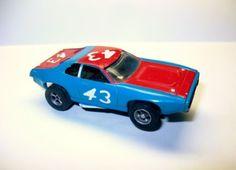 Vintage Aurora A/FX AFX HO Slot Car #1762 Plymouth Road Runner Richard Petty 43