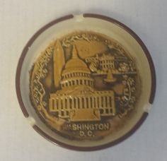 #ashtray Washington DC (collectible , vintage , antique) NEW condition (1970s) visit our ebay store at  http://stores.ebay.com/esquirestore
