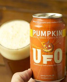 Pumpkin UFO Harpoon Brewery