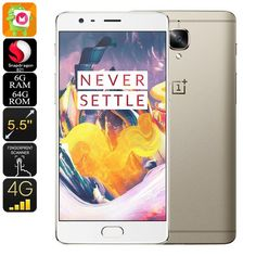 The OnePlus 3T Android smartphone features stunning hardware and two 16MP cameras, making it one of the best Android phones out there.