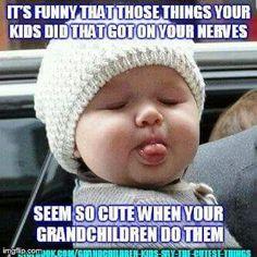 Grandchildren ...so true haha