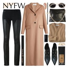 """""""blogger"""" by foundlostme ❤ liked on Polyvore featuring Givenchy, Yves Saint Laurent, Karen Millen, Valentino, Smashbox, Cartier, Sydney Evan, Charlotte Tilbury, NARS Cosmetics and NYFW"""