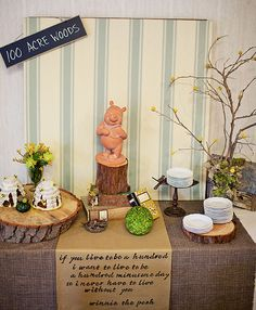 classic pooh baby shower ideas | Winnie the Pooh Themed Baby Shower