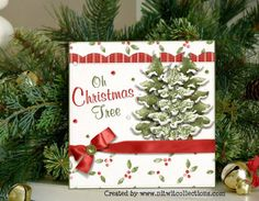 O Christmas Tree card.......O a Christmas tree makes my heart swell at any time of the year!! FQB - Still Joyful Hearts Collection from Nitwit Collections™