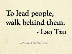 Servant Leadership - Lao Tzu