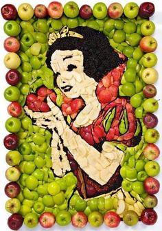 Amazine fruit art  www.flowmagazine.gr