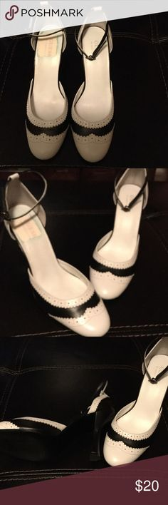 Guess Shoes Black and white guess Shoes Shoes Heels