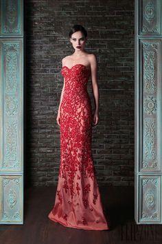"Rami Kadi - Couture - ""Le gala des mystères"", F/W 2013-2014 - http://www.flip-zone.net/fashion/couture-1/independant-designers/rami-kadi-4295"