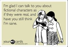 Fictional Characters Are Best!
