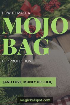 In this article, I'll show you How to Make a Mojo Bag for Protection, Love, Money, and Luck. I'll also share with you a few magickal tips. Wiccan Magic, Black Magic Spells, Wiccan Spells, Candle Spells, Voodoo Spells, Wiccan Rituals, New Moon Rituals, Magic Spell Book, Spell Books