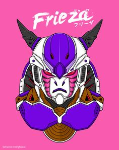 Robo DBZ by Manzur Ghozaali, via Behance