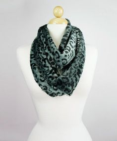 Another great find on #zulily! Blue Leopard Infinity #zulilyfinds $9.99