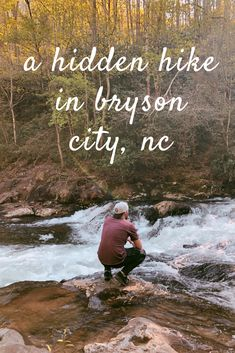Bryson City, North Carolina is a hidden gem in The Great Smoky Mountains. The nature here is untouch Bryson City North Carolina, North Carolina Hiking, Bryson City Nc, North Carolina Mountains, Carolina Beach, Hiking Places, Hiking Usa, Photography North Carolina, Hiking Photography